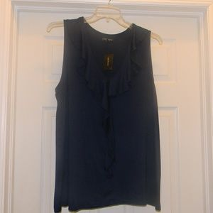 Lane Bryant Sleeveless Blue Top  Size 18/20